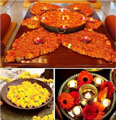 Indian wedding flowers