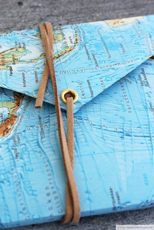 Dann kann es ja los gehen: Mappe für Reiseunterlagen | dekotopia