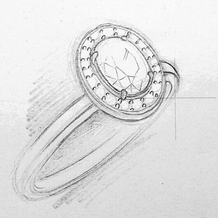 Diamond or Tanzanite Ring Design