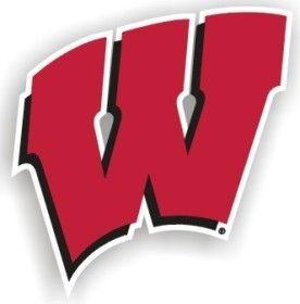 "Wisconsin Badgers 12"""" Car Magnet"