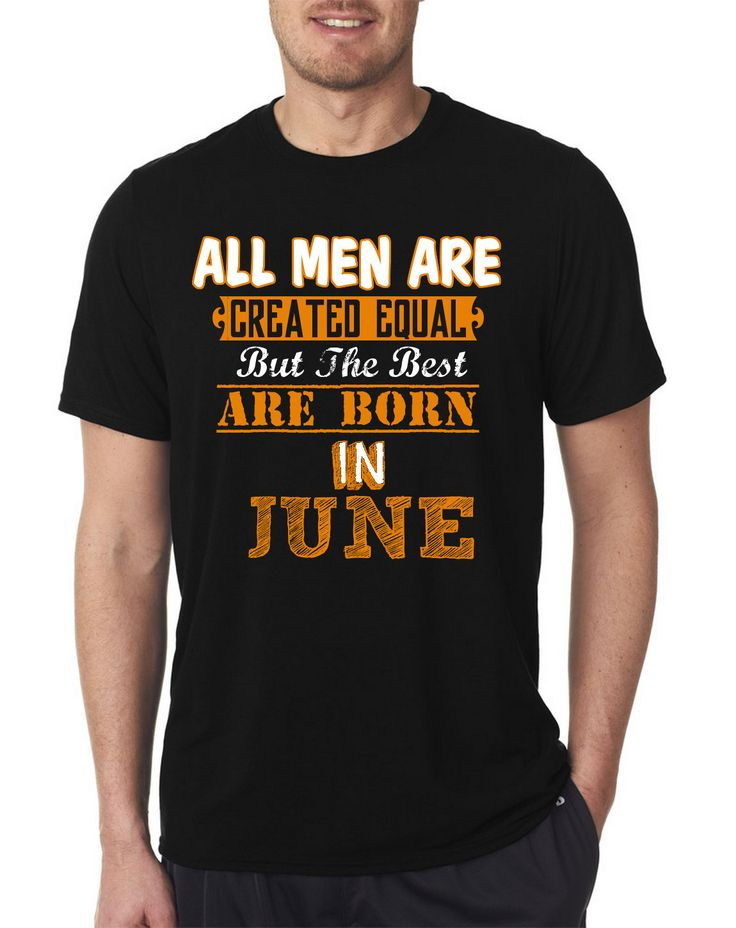 Plastic shower curtain hooks - All Men Are Equal But Legends Are Born In June T Shirt