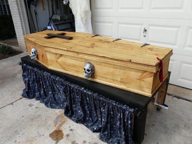 coffin bar tutorial halloween decorationsstep
