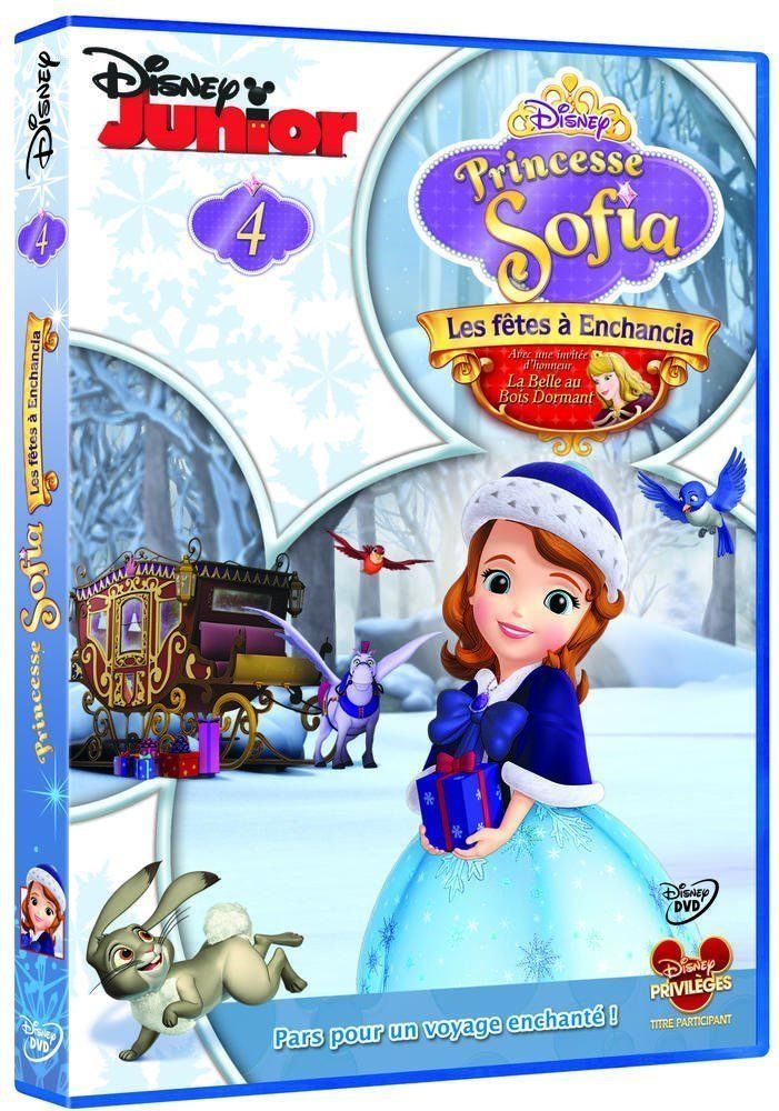 WALT DISNEY : Princesse Sofia - 4 - Les fêtes à Enchancia- Série Tv - DVD NEUF