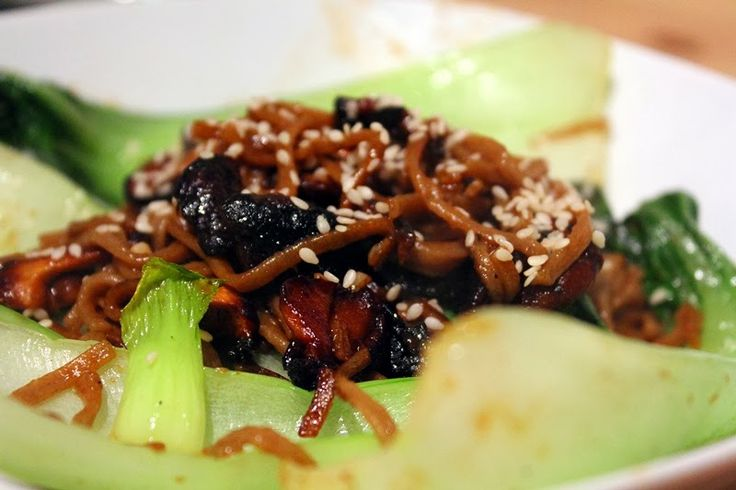 Shitake Soba Noodles Recipe | Extraordinary Food & Drink | Pinterest
