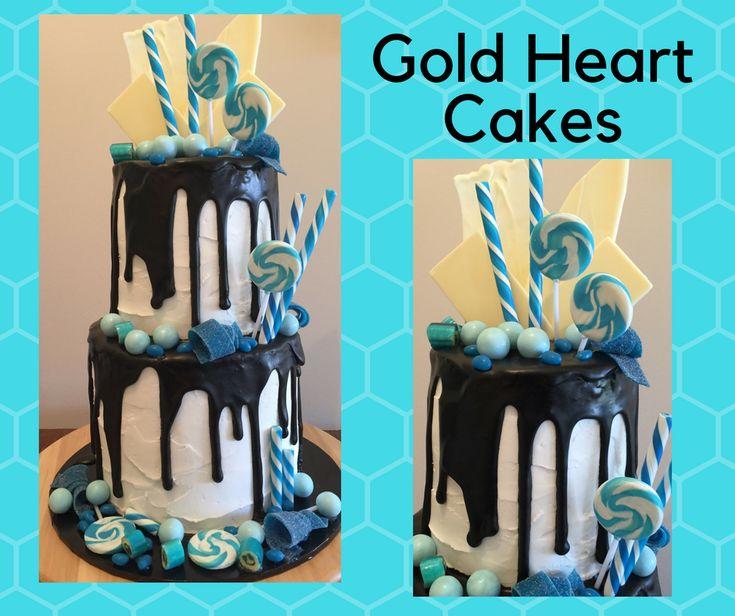 Black meets Blue  http://goldheartcakes.website/drizzle/2018/2/5/black-meets-blue