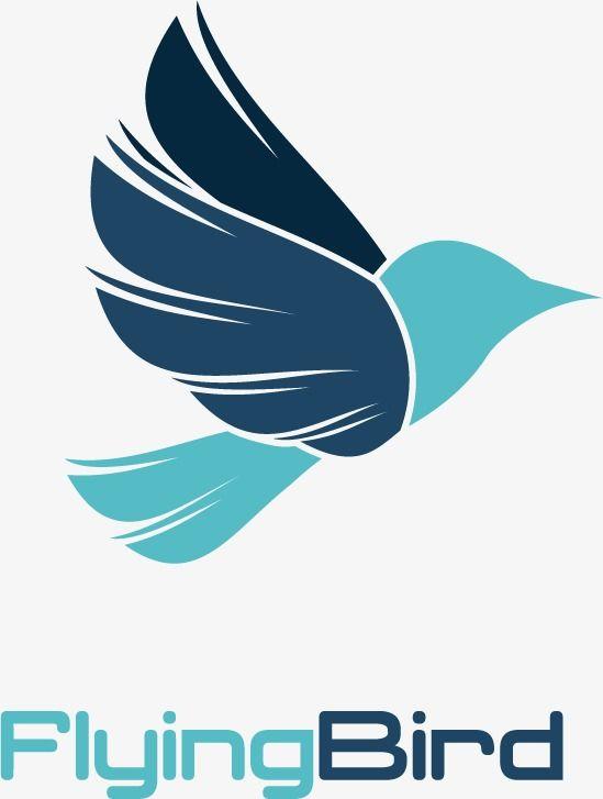 Creative Logo Creative, Logo Vector, Blue, Birds PNG and Vector with