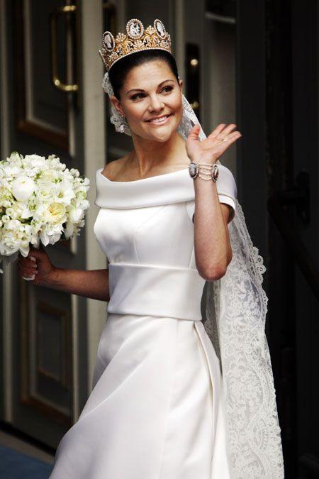 Princess Victoria of Sweden- wedding dress