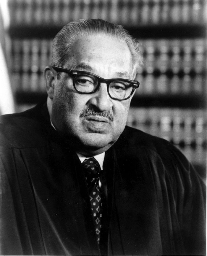 Oct. 2, 1967: Thurgood Marshall was sworn in as an associate justice of the U.S. Supreme Court, becoming the first African-American to serve on the high court.