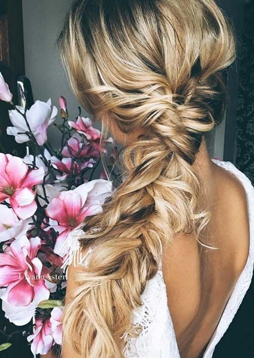 Simple Braided Hairstyles For Prom : Best 25 messy side braids ideas on pinterest side braid