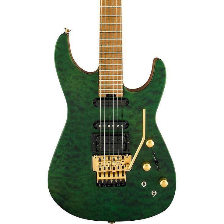 Jackson USA Signature Phil Collen PC1 Satin Satin Transparent Green