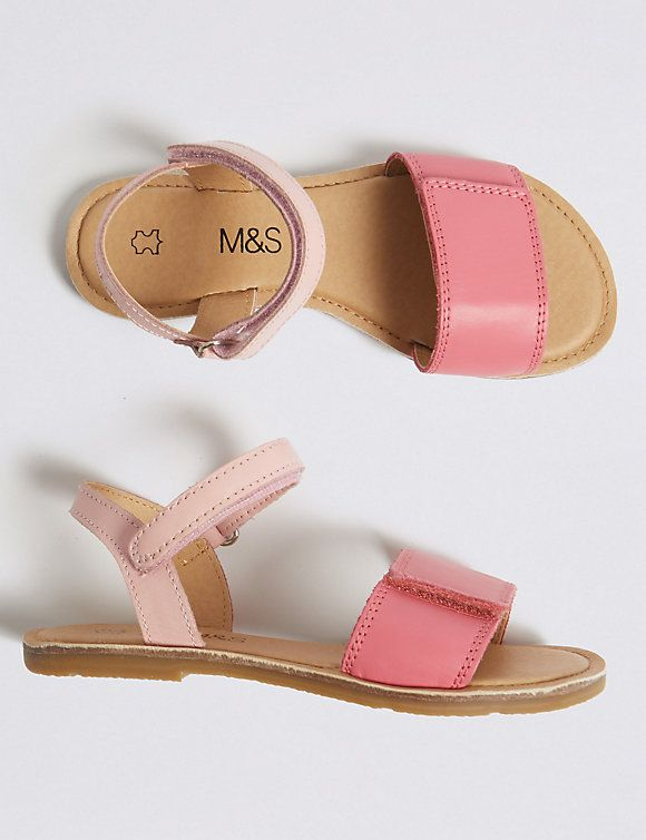 Kids' Leather Sandals (5 Small - 12