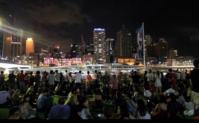 Brisbane NYE 2012