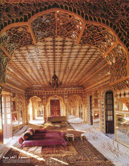 Arab interiors