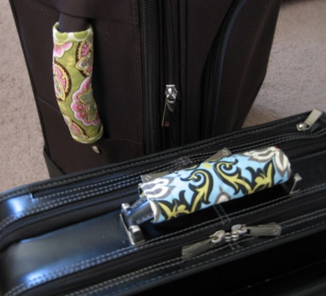 FREE Pattern! Designer Luggage Handle Cover   Quilt Girl