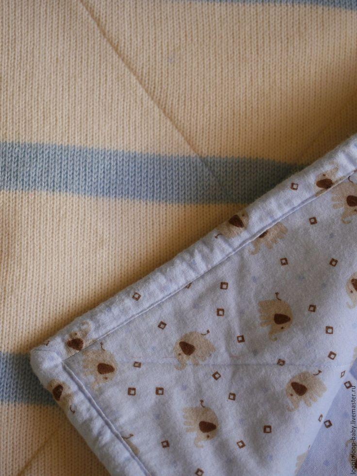 Купить Детское одеяло на подкладе (двустороннее стеганое одеяло) - одеяло, детское одеяло, детский плед