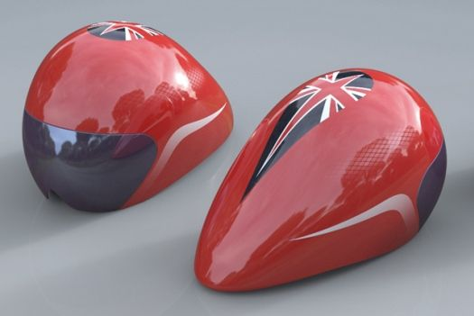 Custom-Fitted British Olympic Cycling Helmets Made From 3D Heads Scans