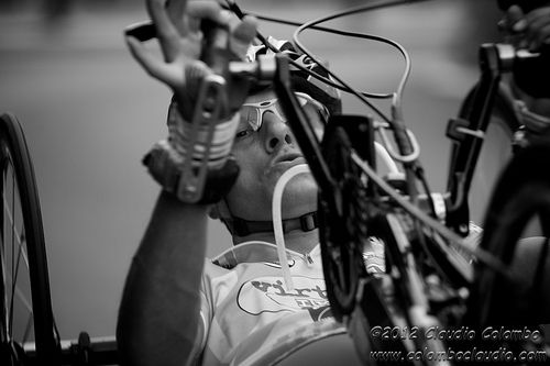 Handbike Giro d'Italia 2012