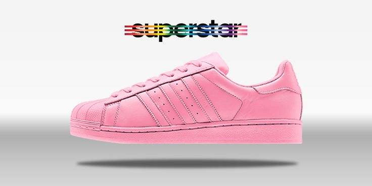 Adidas Superstars Pink