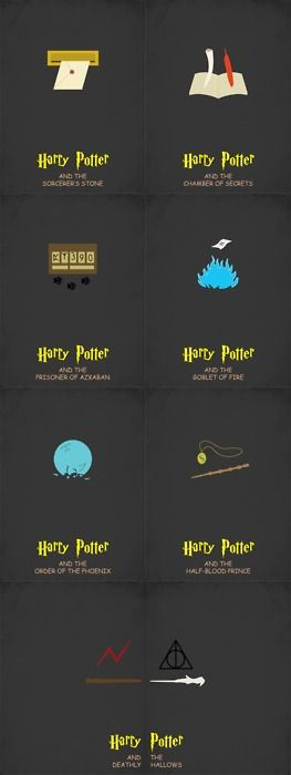 minimalist Harry Potter