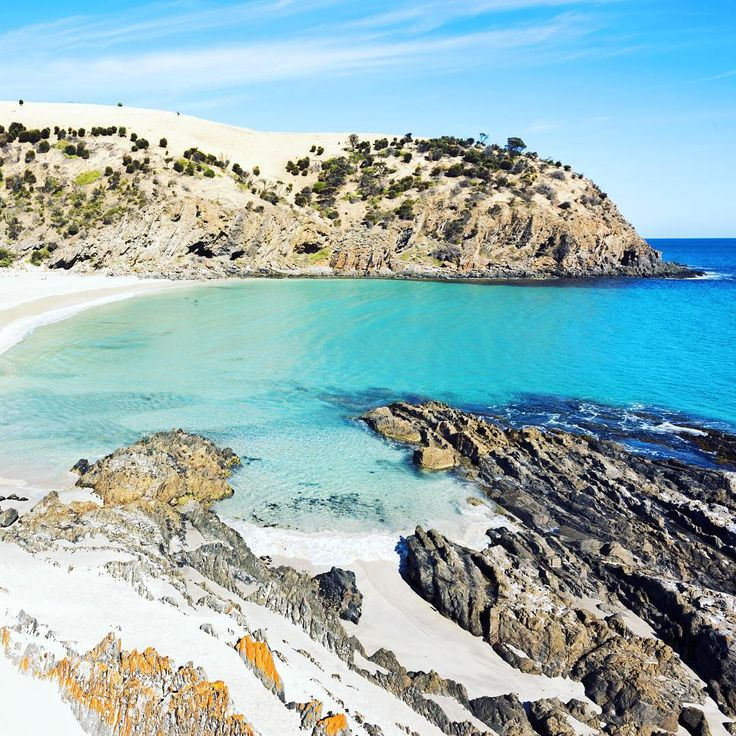 """""""This is the Western River Cove on Kangaroo Island and my second last South Australia post. This beach only had two other people on it when I was there and…"""""""