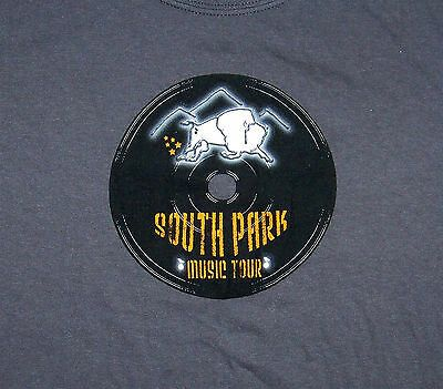 SOUTH PARK MUSIC TOUR / FAIRPLAY & ALMA COLORADO 2008 / GRAY T-SHIRT SIZE M #fashion #clothing #shoes #accessories #men #mensclothing (ebay link)