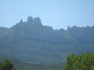 Планината Монсерат и Черната Богородица, покровителка на Каталуния