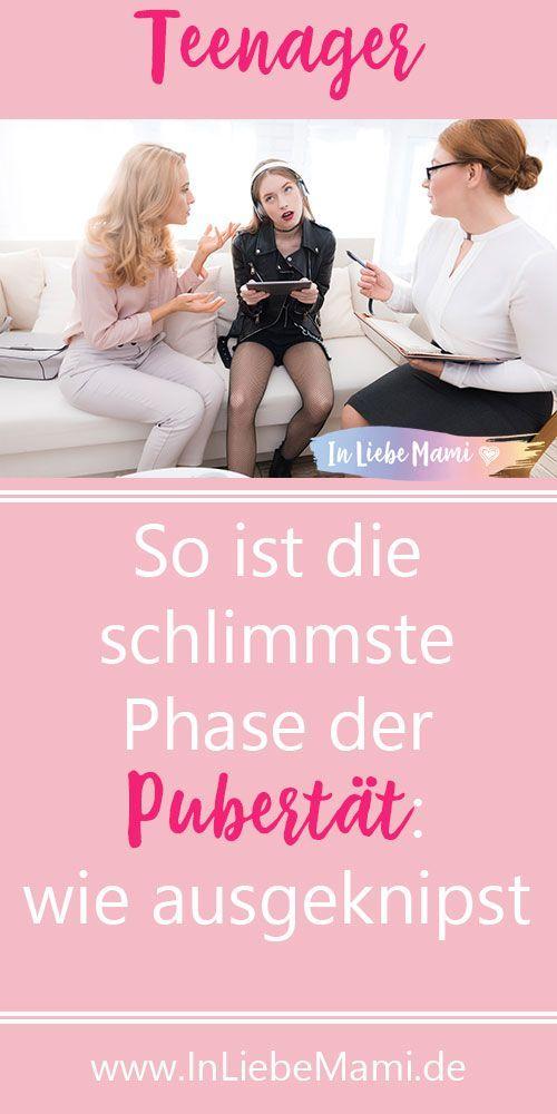 So ist die schlimmste Phase der Pubertät: Wie ausgeknipst