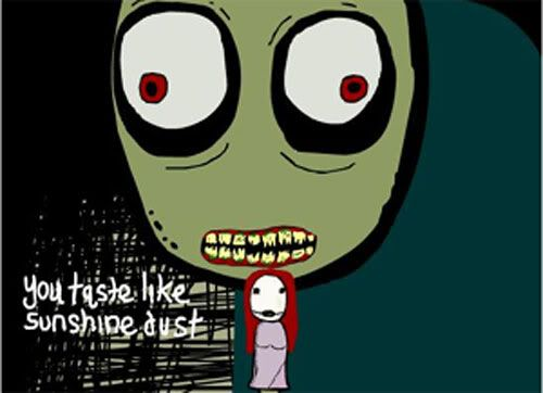 DUUUUDE!!!! I love Salad Fingers! Everyone I've ever known thinks I'm fuckin weird for watching this when I'm high, but I used to watch this shit all the time at UNCG!