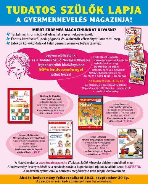 a gyermeknevelés magazinja