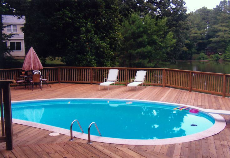23 best hot tubs pool decks patios images on pinterest deck patio pool decks and swimming for Swimming pool supplies raleigh nc