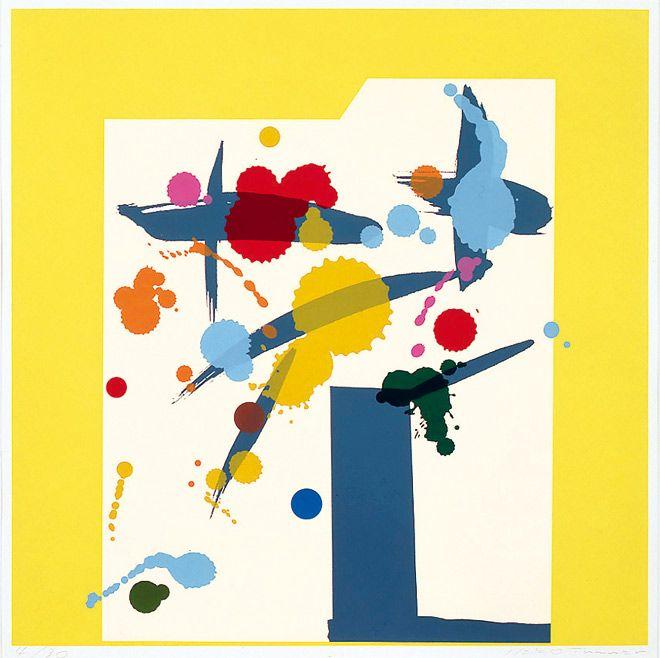 田中一光「作品・花」 (C)Ikko Tanaka1979 /licensed by DNPartcom 奈良県立美術館蔵