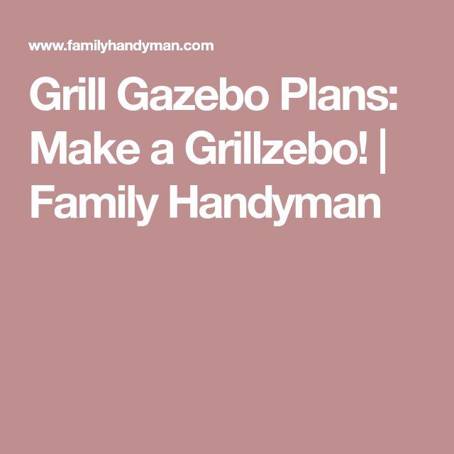 how to make a gazebo