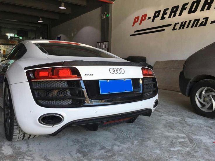 Carbon Fiber Rear Spoiler Lip Wing for Audi R8 GT V8 V10 2008-2014(Fits:R8) Skype:junchi2016@outlook.com WhatsApp:+86 15271799951 Email:sales024@jcsportline.net Mobile: +86 15271799951