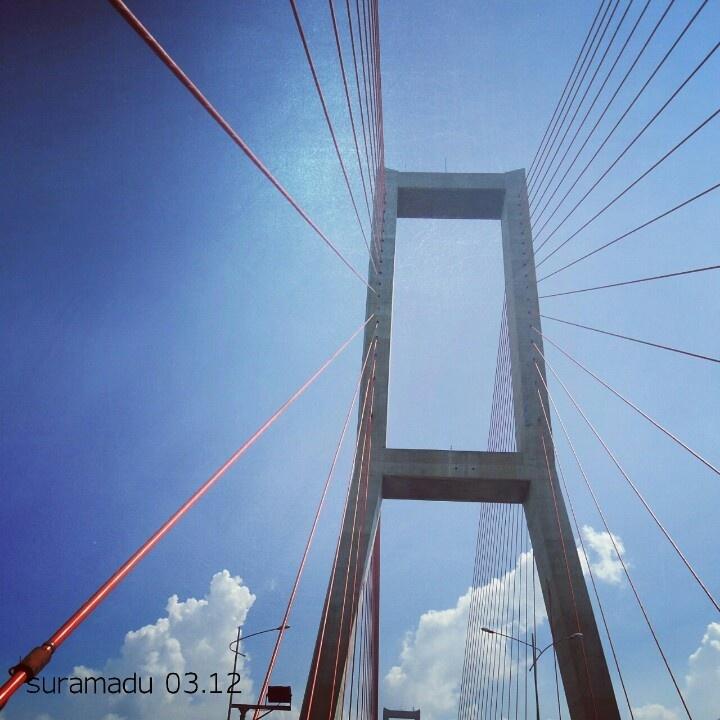 Suramadu bridge,  surabaya-madura, east java, indonesia