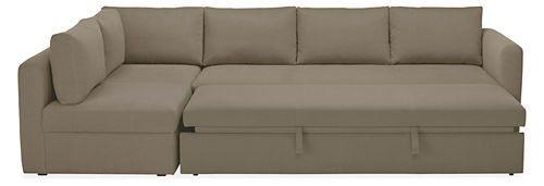 Oxford Pop-Up Platform Sleeper Sofa with Chaise - Sleeper Sofas - Living - Room & Board