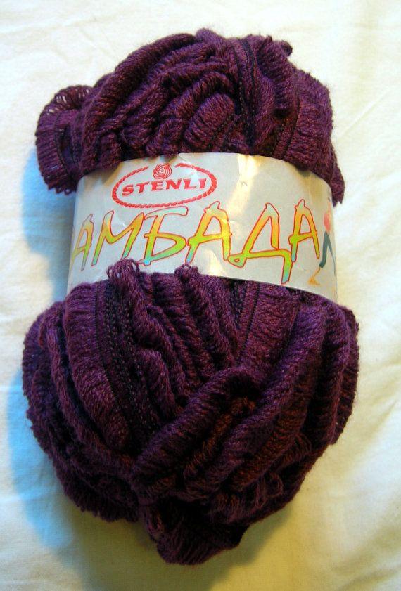 Ruffle yarn lambada yarn flamenco yarn can can yarn by HandyFamily, €3.20