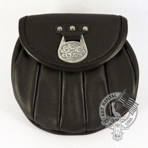 Kilt Accessories - Leather Sporran