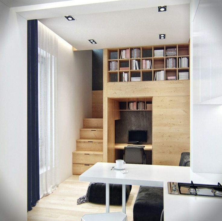 aménagement de petit espace avec déco pratique
