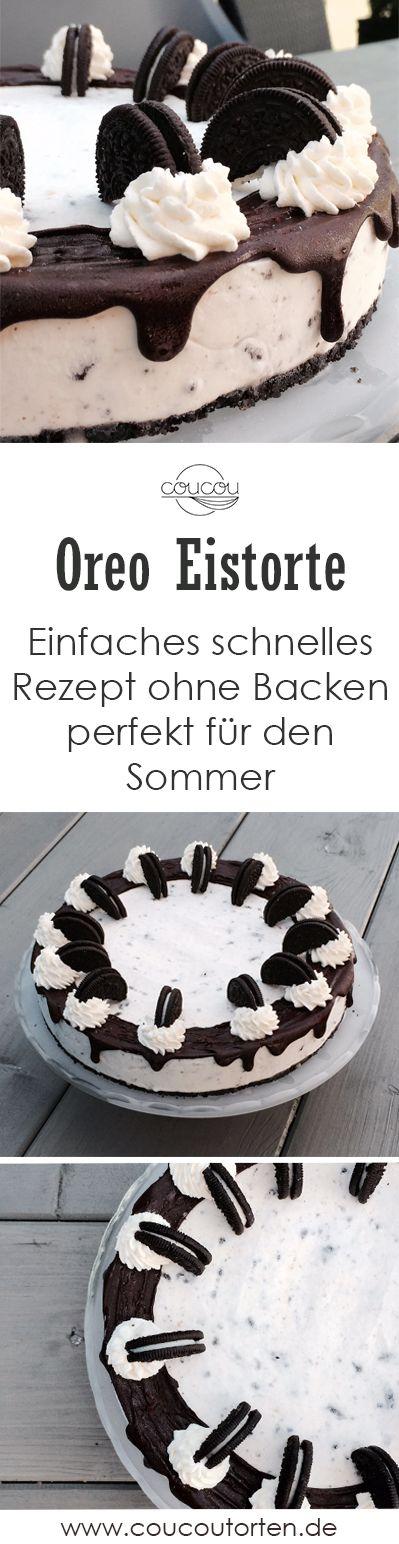 No-Bake Oreo Eistorte Cheesecake – einfaches Rezept ohne Backen