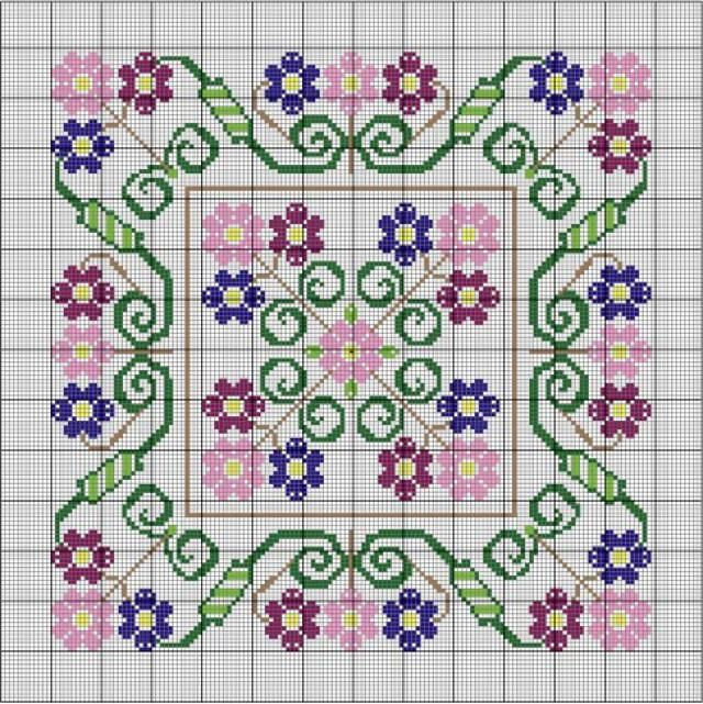 Free Needlepoint Patterns with Instructions, Full-Color Charts, and Patterns.