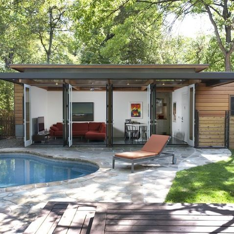 24 best images about flat roof extension on pinterest for House with pool on roof