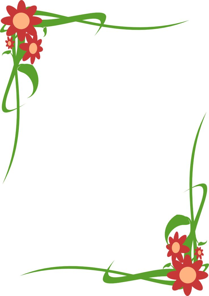 borde floral - Buscar con Google
