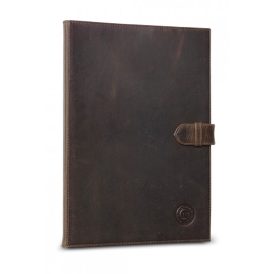 Hunter dark, classic leather folio case for Galaxy Note 10.1. Price: $90. More information: www.dbramante1928.com.