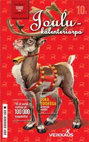 joulukalenteriarpa 10 €
