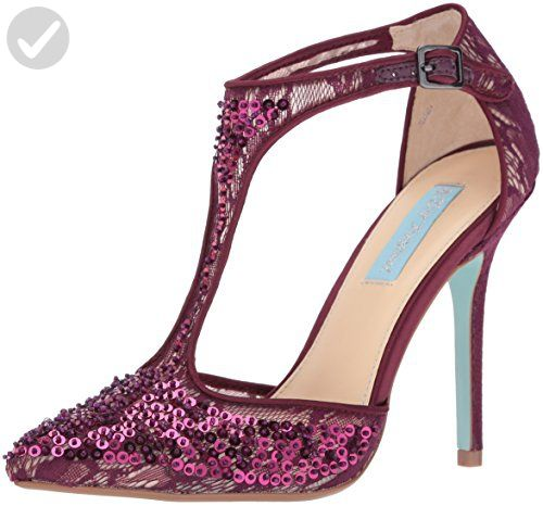 Blue by Betsey Johnson Women's Sb-Eliza Dress Pump, Bordeaux, 6.5 M US - All about women (*Amazon Partner-Link)