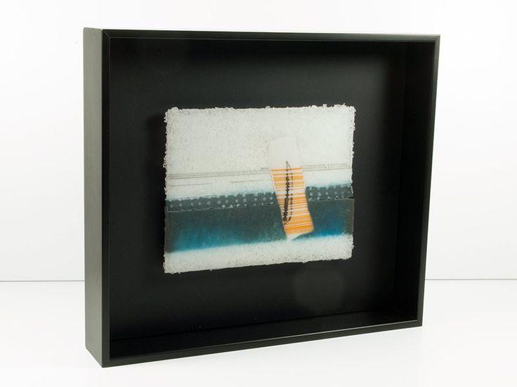 Junction Art Gallery - Jo Newman 'White Noise Series, 2' http://www.junctionartgallery.co.uk/artists/glass/jo-newman