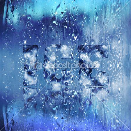 ICE Text Effect — Stock Vector © GoodArtPix #11819367