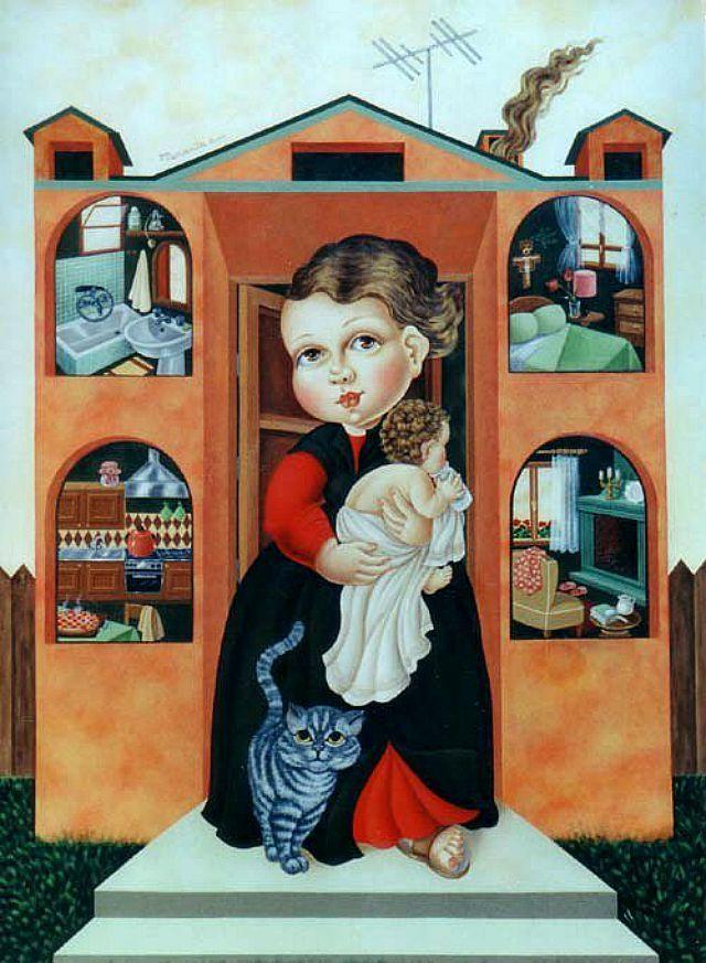Необычные персонажи Mariarita Brunazzi - Ярмарка Мастеров - ручная работа, handmade