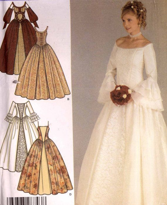 Renaissance Bridal Gown Sewing Pattern Princess Dress: 907 Best Images About Bridal Fashion Patterns On Pinterest