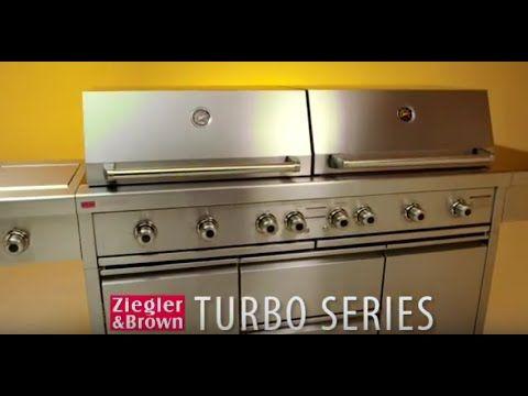Ziegler & Brown Turbo Elite 6 Burner Build-In - Turbo Elite - Ziegler & Brown - Barbeque Brands - Barbeques